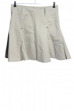 Exon Godet Skirt light grey casual look