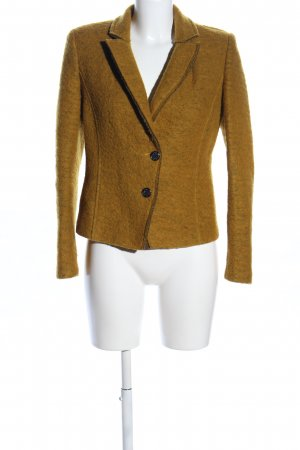 Exon Wolljacke braun meliert Casual-Look