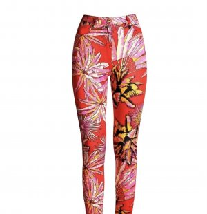 Versace for H&M High Waist Trousers red