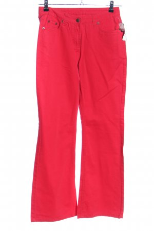 EXPLORER Jeansschlaghose rot Casual-Look