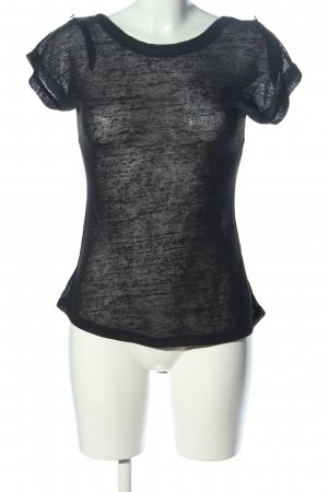 export ktn T-Shirt blau meliert Street-Fashion-Look