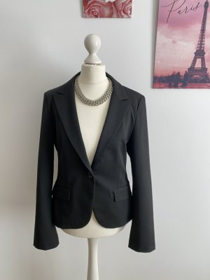 Express Blazer Sakko schwarz black Business Büro edel 36 S