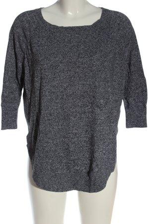 Express Fine Knit Jumper light grey flecked casual look