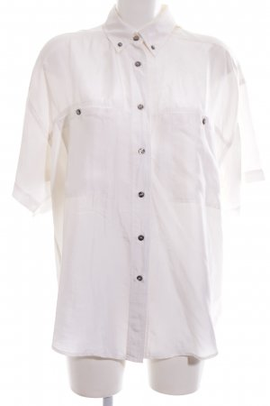 Express Camicia blusa bianco stile professionale