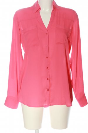 Express Hemd-Bluse pink Business-Look
