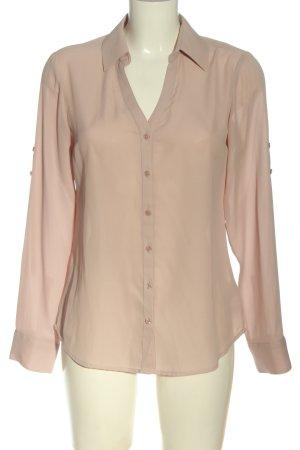 Express Camicia a maniche lunghe rosa stile casual