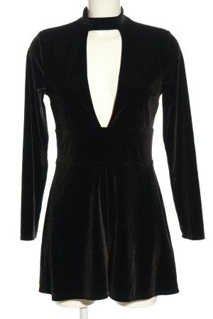 Express Langarmkleid schwarz Elegant
