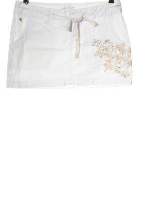 Express Minigonna bianco stile casual