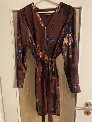 Express Blouse Dress bordeaux