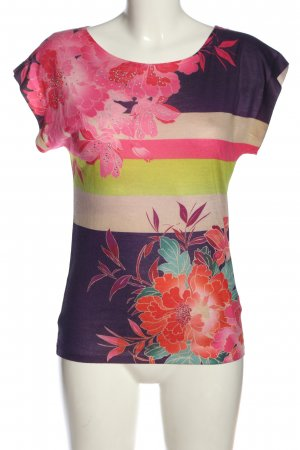 Express Schlupf-Bluse Blumenmuster Casual-Look