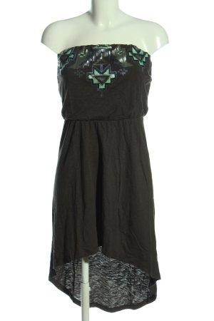 Express schulterfreies Kleid schwarz Casual-Look