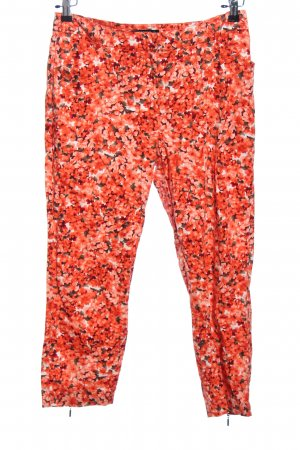 Expresso Chinohose Allover-Druck Casual-Look