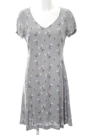 Expresso A-Linien Kleid hellgrau Allover-Druck Casual-Look