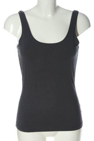 Expresso Basic topje zwart casual uitstraling