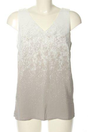 Expresso Blouse topje wit-lichtgrijs kleurverloop casual uitstraling