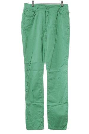 Expresso Pantalon cinq poches vert style décontracté