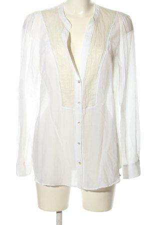 Expresso Hemd-Bluse weiß-wollweiß Business-Look