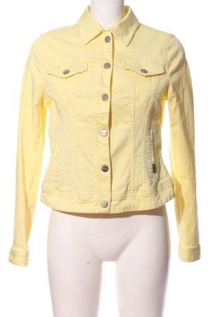 Expresso Veste en jean jaune primevère style décontracté
