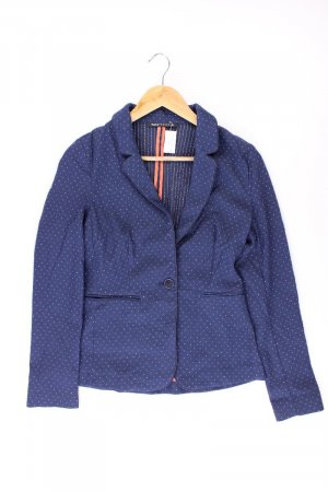 Expresso Blazer in jersey blu-blu neon-blu scuro-azzurro Cotone
