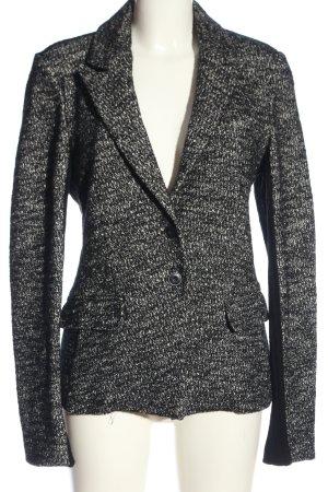 Expresso Kurz-Blazer schwarz-weiß Casual-Look