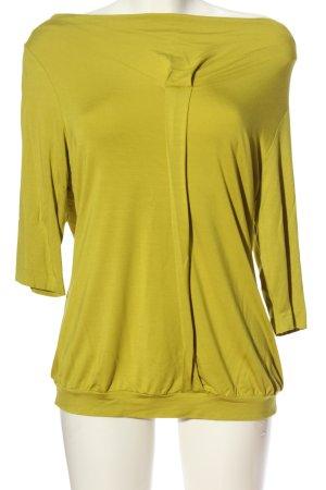 Expresso Kurzarm-Bluse grün Casual-Look