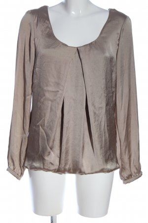 Expresso Long Sleeve Blouse light grey business style