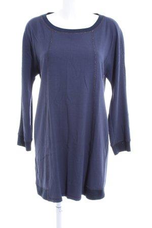 Expresso Langarmkleid blau Casual-Look