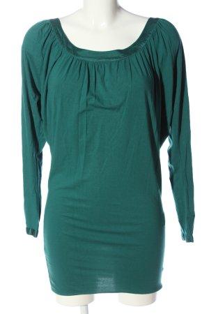 Expresso Camicia lunga verde stile casual