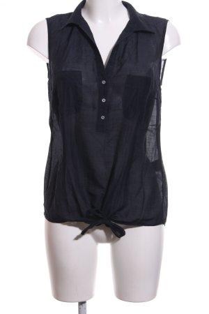 Expresso ärmellose Bluse schwarz Elegant