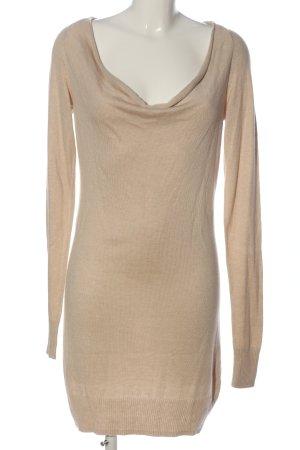 Expresso Vestido tipo jersey color bronce look casual