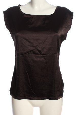 Expresso Blouse à enfiler brun style décontracté