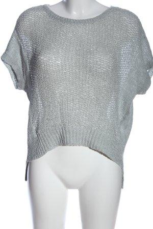 Expresso Camicetta da notte grigio chiaro modello web stile casual