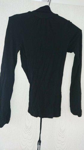 Expresso, Shirt, Holländischer Designer, Gr. S, Rückenpartie Offen, Schwarz,