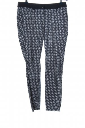 Expresso Stoffhose Allover-Druck Casual-Look