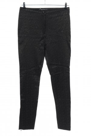 Expresso Jersey Pants black graphic pattern casual look
