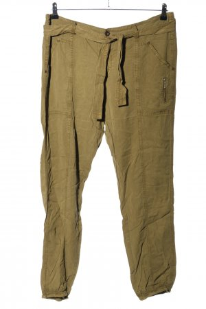 Expresso Jersey Pants bronze-colored casual look