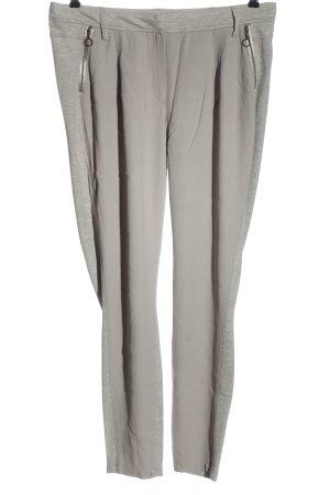 Expresso Pantalone jersey grigio chiaro puntinato stile casual