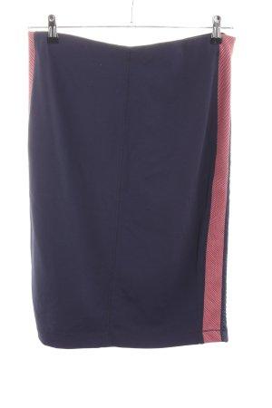 Expresso Stretchrock blau-rot Casual-Look