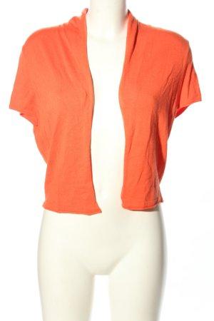 Expresso Gebreide bolero licht Oranje casual uitstraling