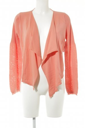 Expresso Strickjacke lachs Casual-Look
