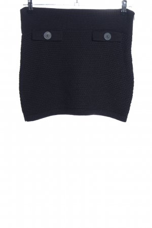 Expresso Knitted Skirt black casual look