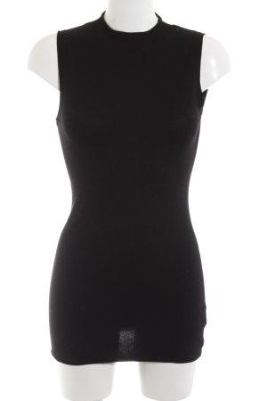 Expresso Gebreide top zwart elegant