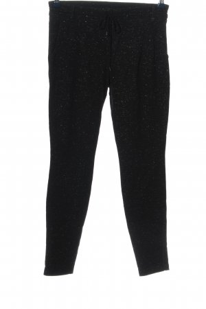 Expresso Sweat Pants black allover print casual look