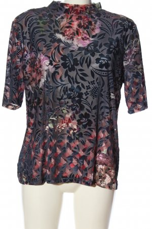 Expresso Transparenz-Bluse abstraktes Muster Casual-Look