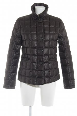 Exquisit by S.v.B. Winterjacke schwarzbraun Casual-Look