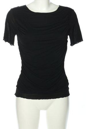 EXQUISIT T-Shirt schwarz Casual-Look
