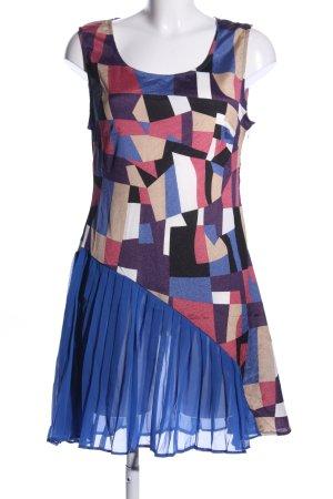 Exquiss's Trägerkleid abstraktes Muster Elegant