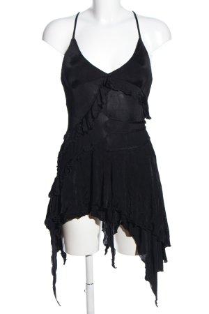 Exté Robe dos-nu noir style festif