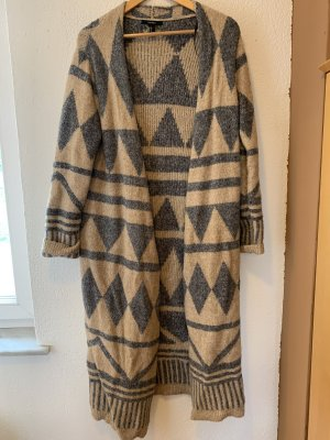 Forever 21 Knitted Coat multicolored