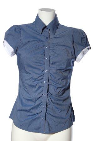extra me Hemd-Bluse blau-weiß Casual-Look